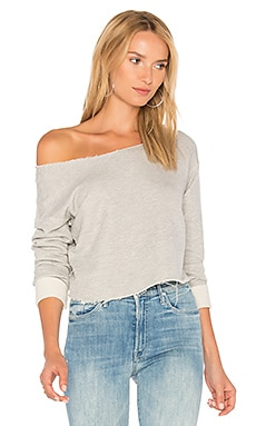 The Crop Cold Shoulder Top