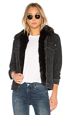 The Furry Faux Fur Drifter Jacket