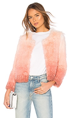 The Faux Fur Boxy Jacket MOTHER $169