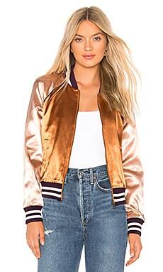 The Letterman Zip Jacket MOTHER $335