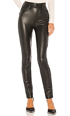 The Super Swooner Vegan Leather Pant MOTHER $218