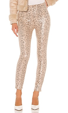 PANTALÓN AJUSTADO HIGH WAISTED SEAMLESS LOOKER ANKLE MOTHER $139
