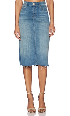 MOTHER Easy A Skirt in Welcome To Paradise