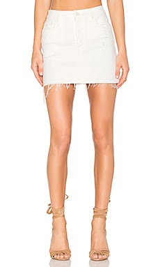 The Vagabond Mini Fray Skirt