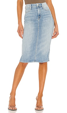 The Swooner Straight A Skirt MOTHER $208