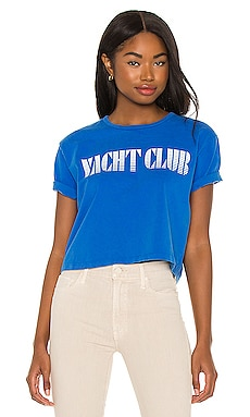 The Short Sleeve Slouch Tee MOTHER $95