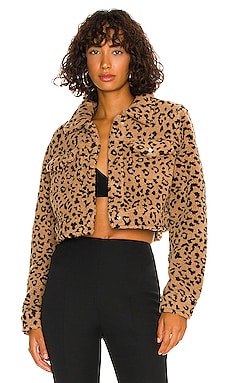 Amina Cropped Jacket MORE TO COME $98 NEW