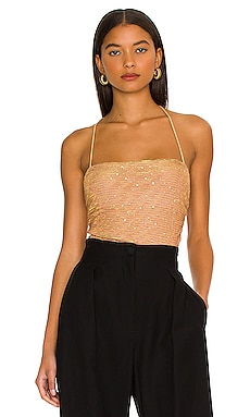 Olivia Sparkle Cami Bodysuit MORE TO COME $58 NEW