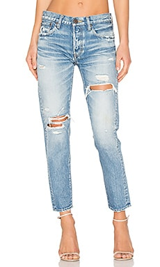 Bowie Distressed Skinny in Blue