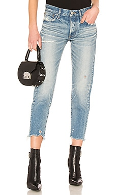 Kelley Tapered Jean Moussy Vintage $325