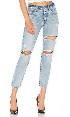 Фото - Прямые джинсы branford - Moussy Vintage цвет none