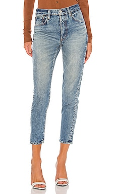 Kepner Tapered Slim Straight Moussy Vintage $228