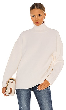Rib Stitch Turtleneck Moussy Vintage $295