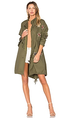 Parka With Stars in Military
