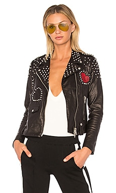 Heart Leather Jacket