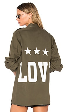 Love Shirt in Military