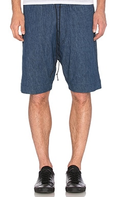 Mr. Completely Pocket Shorts in Chambray