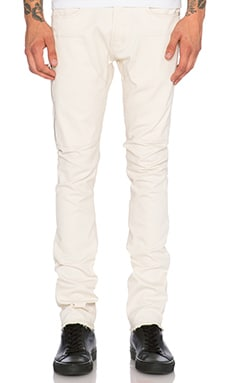Mr. Completely Raw Jean in Cream
