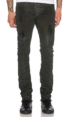 Mr. Completely Clear Wax Jean in Grey