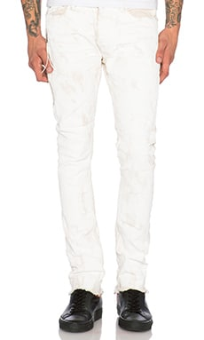 Mr. Completely All Over Wax Jean in White
