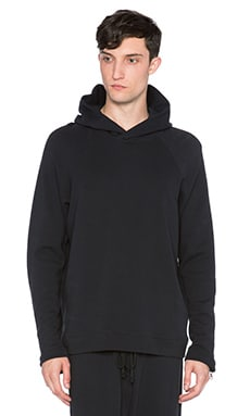 Mr. Completely Moto Sleeve Pullover Hoodie in Black