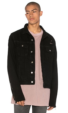 Moto Sleeve Trucker Jacket