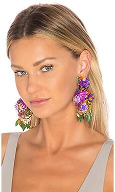 Fiesta Flor Tropical Earrings