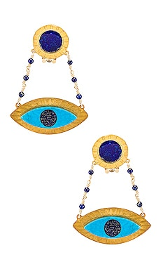Evil Eye Earring Mercedes Salazar $225