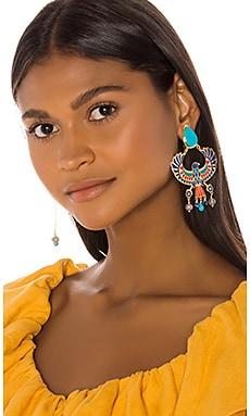 PENDIENTES DE CLIP EAGLE Mercedes Salazar $120
