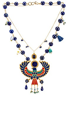 Eagle Pendant Necklace Mercedes Salazar $348