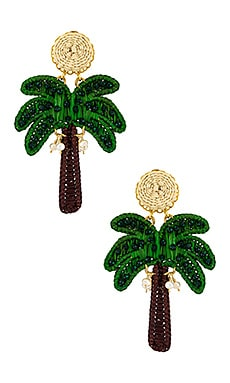 СЕРЬГИ PALM TREE Mercedes Salazar $119