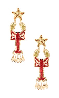 Isla Lobster Earring Mercedes Salazar $139