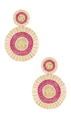 Sun Earrings Mercedes Salazar $225