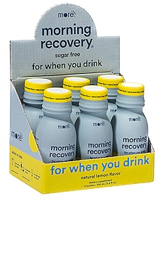Morning Recovery Sugar Free Lemon 6 Pack More Labs $36