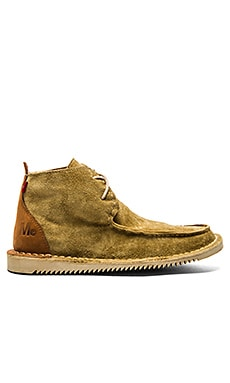 Mark McNairy New Amsterdam x Oliberte Moccasin Chukka Boot in Tan Suede