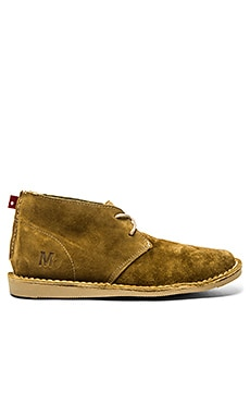 Mark McNairy New Amsterdam x Oliberte Chukka Boot in Tan Suede