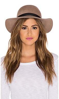 Maison Scotch Wide Rimmed Hat in Beige