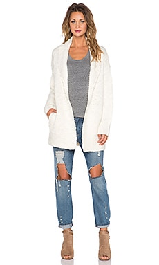 Maison Scotch Home Alone Cardigan in Ivory