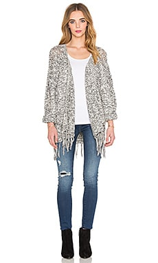 Maison Scotch Kimono Cardigan in Grey