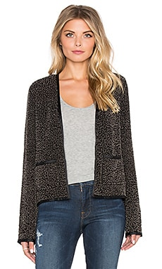 Maison Scotch Embellished Party Jacket in Black