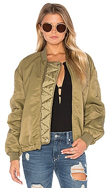 Lightweight Bomber Jacket en Army