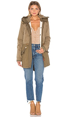 Maison Scotch Winter Parka in Khaki