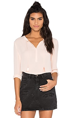 Maison Scotch Tunic Blouse in Peach