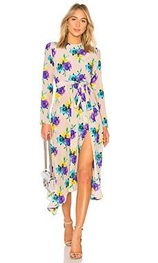 Floral Midi Dress MSGM $1,045