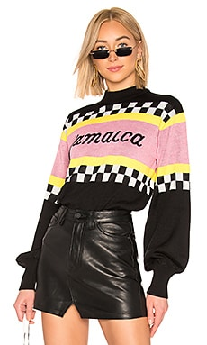 Jamaica Racing Sweater MSGM $168