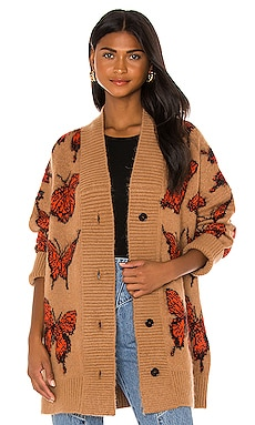 Butterfly Cardigan MSGM $642