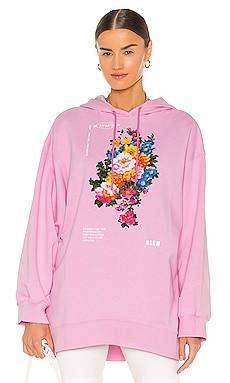 Felpa Graphic Hoodie MSGM $213