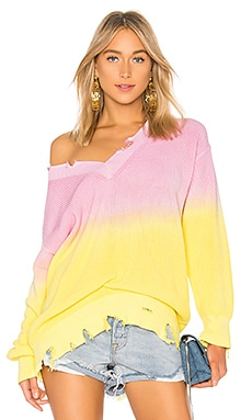 Tie Dye Ribbed Sweater