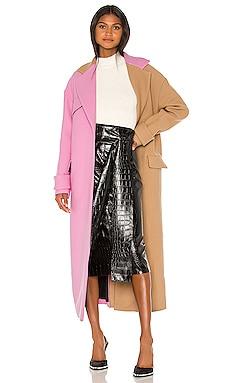 Colorblock Coat MSGM $1,235