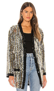 Chains Paillettes Cardigan MSGM $310